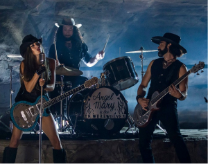 Angel Mary and The Tennessee Werewolves at Music Charts Magazine - NEW DISCOVERY for November 2014 - Jesse James Cave - Folsom Prison Blues Music Video - Photo by Adam Stagner