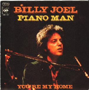 Billy Joel - Piano Man - Music Charts Magazine Song of the Month for August 2014