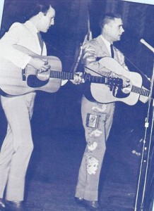 George Riddle - left - and George Jones - right