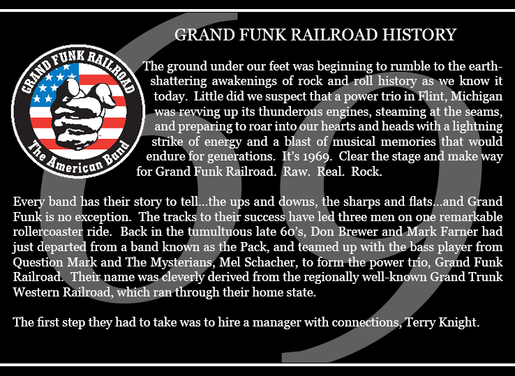 Grand Funk Railroad History