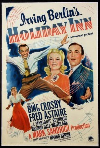 Irving Berlin-s- Holiday Inn - Starring Bing Crosby and Fred Astaire - Poster