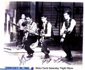January 30 - 1960 - Dick Clark Saturday Night Show - The Fireballs - George Tomsco - Music Charts Magazine Exclusive Audio Interview
