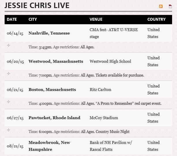 Jessie Chris Live - singing her rising country song Chameleon - Music Charts Magazine NEW DISOVERY June 2015 - WILDFIRE