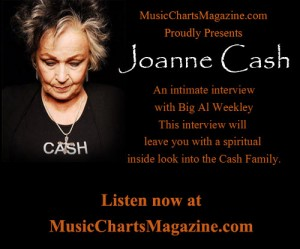 Joanne Cash - Music Charts Magazine Exclusive Interview
