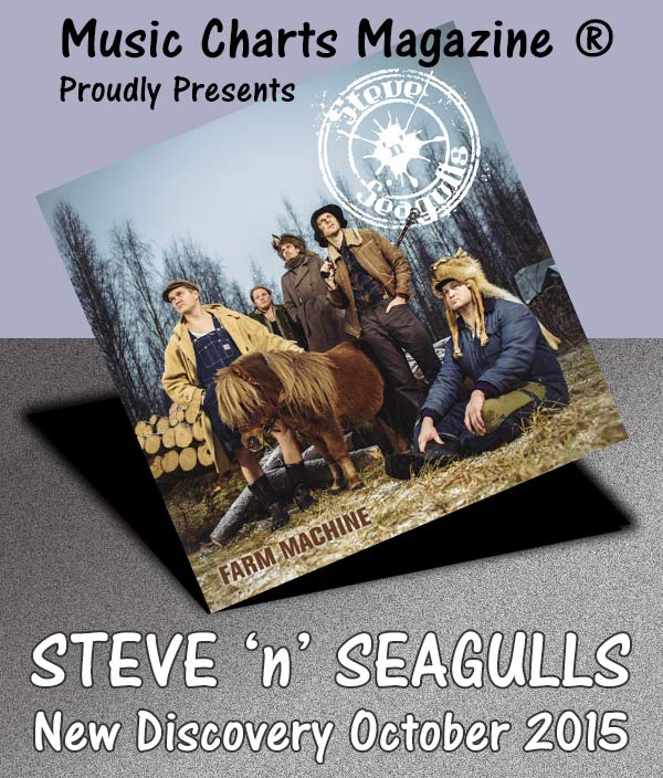 Music Charts Magazine - New Discovery for October 2015 - Steve-N-Seagulls