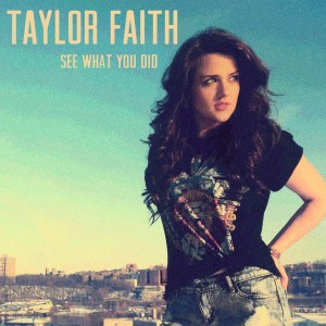 "Music Charts Magazine® NEW DISCOVERY for June 2014 - Taylor Faith - featuring Taylor's song ""See What You Did"""