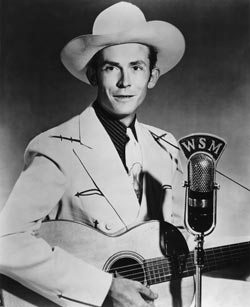 Old WSM Hank Williams Promotional Photo