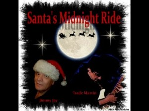 Santa's Midnight Ride with DJ Jimmy Jay and Trade Martin at Music Charts Magazine Christmas 2013