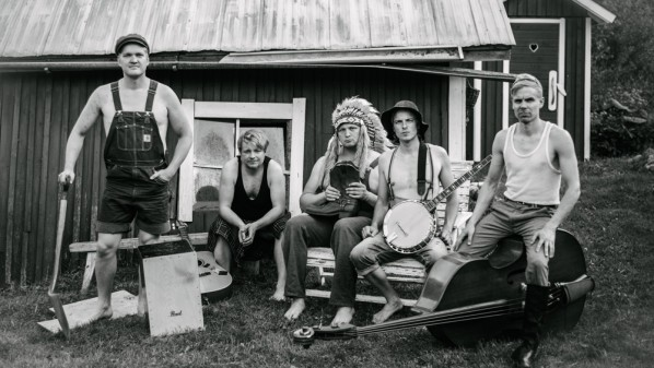 "Steve N Seagulls - NEW DISCOVERY for the month of October 2015 at Music Charts Magazine - NEW ABLUM - ""FARM MACHINE"" - Steve N Seagulls"