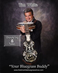 Tim White Bluegrass Show Promo Photo