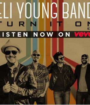 Eli Young Band - Turn It On - Music Charts Magazine CD Review by Donna Rea