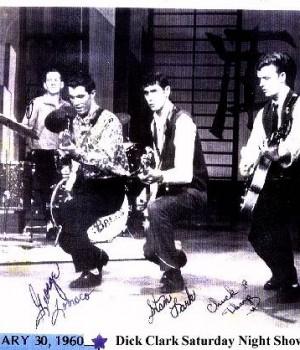 January 30 - 1960 - Dick Clark Saturday Night Show - The Fireballs - George Tomsco - Music Charts Magazine Exclusive Audio Interview