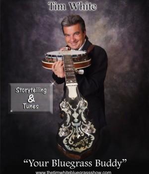 Tim White Bluegrass Show Promo Photo